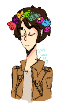 flowercrowns are manly i guess by Sasorifangirl4568