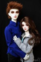 Bella and Edward 1 by Sheilagold