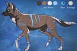 Adoptable: African Wild Dog :CLOSED: by The-Nutkase