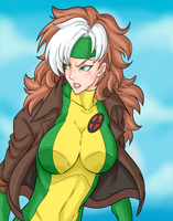 Rogue (X-Men) by Ray-D-Sauce