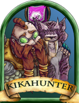 Kikahunter Blizzcon Badge by Pavnix