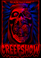 Five Jolting Tales of Horror! Creepshow Poster by SamRAW08