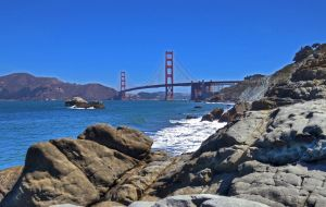 Golden Gate from Baker Beach by PaulWeber