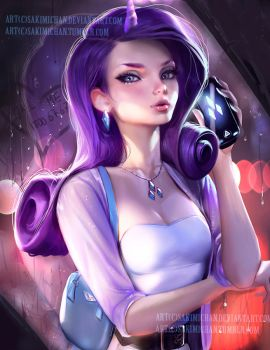 Rarity. modern portrait. by sakimichan