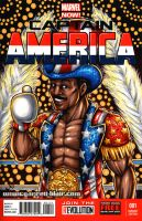 Apollo Creed sketch cover by gb2k