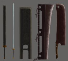 Great Sword Set 1 by ThroneSeeker