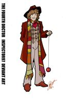 The Fourth Doctor by Inspector97