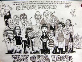 group caricature in Ireland by Sadboy-Elchicotriste