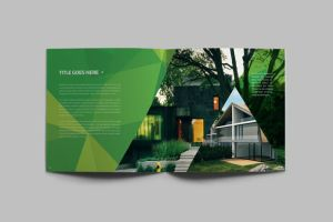 Abstract Ecologic Brochure by AbraDesign