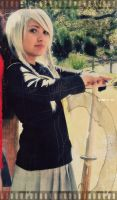 souji cosplay by yuki-sparda
