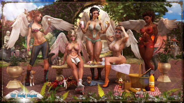 Off Duty Angels by Becarra