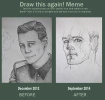 Draw it Again: Michael Fassbender by Dewheart85