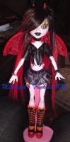 one of a kind monster high inferno ldd inspired by midnightstrinkets