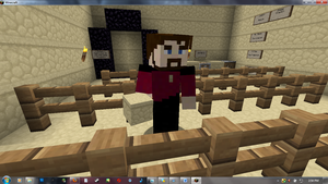 Riker in Minecraft... by FredrickTheCreeper