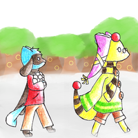 PKMNC Snow war: Jenna and Danny by choco285