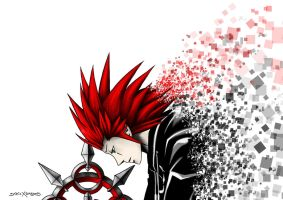 Axel - Kingdom Hearts by staticXshadows