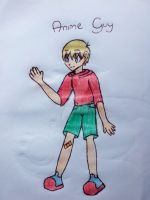 Anime Guy by Toddiie