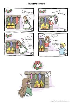 APH: Christmas Stocking by carichan
