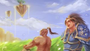 Wind in Nagrand by phoebecn