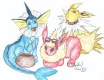 Adorable trio by DarkStormSeeker