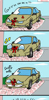 Why Cars Hate Christmas... by Laserbot
