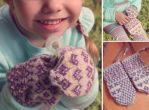 Sami Children's Mittens by kateknitsalot