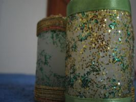 glitter candle by Insan-Stock