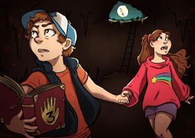 Mystery Twins by paigehwarren