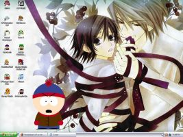 MB Desktop: Junjou Romantica by Metalbeast114
