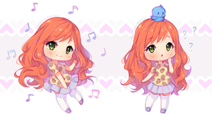 Commission - Sweet Alice chibis 6/6 by Hyanna-Natsu