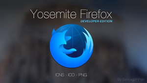 Yosemite Firefox Developer Edition by SantiagoRPan