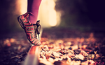 In shoes. by nskayerz