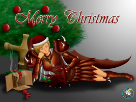 A Dragon Christmas by DaEliminator