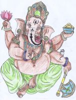 Lord Ganesha by Verin88