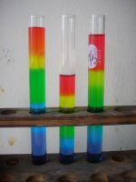 Colorful in test tubes by Maleiva