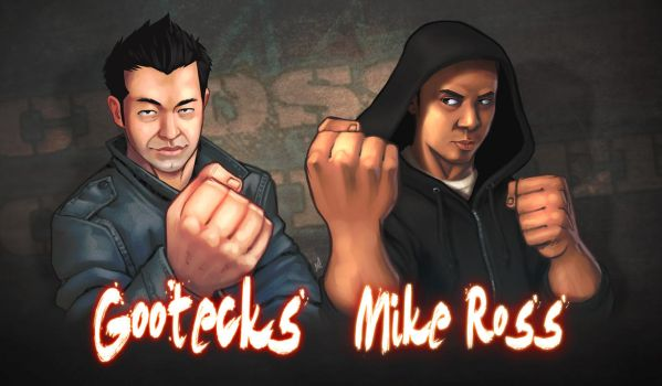 Gootecks and Mike Ross by Zatransis