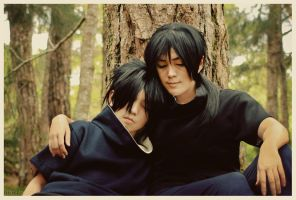 Itachi and Sasuke: Always by behindinfinity