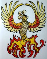 Firebird Tattoo! by FallBird