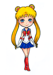 Sailor Moon by lagoliver