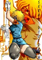 Concept work of Seras Victoria by Anime-Dude