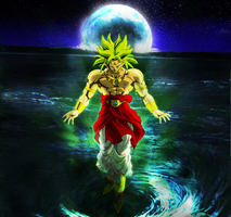 Broly The Legendary Saiyan by casanova218