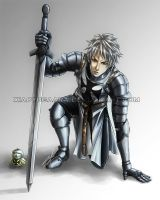 APH_Prussia: Teutonic Knight by xiaoyugaara
