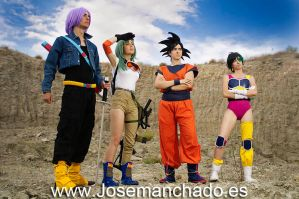 Dragon Ball Team by Zihark-cosplay