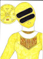 Power Rangers Zeo II Yellow Ver. 1 by SeptimusParker