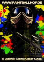 Paintballhof Plakat v1.1 by MDEVIANCE