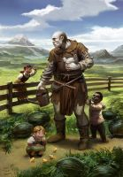 team chow with alex and jana 4 by algenpfleger