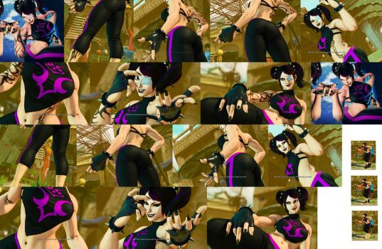Gothic Juri Battle Costume SFV by bbbSFXT