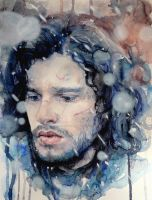 Jon Snow by Anna-Mariaa