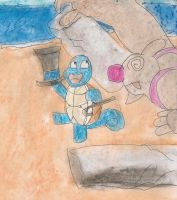 defeated by a dancing squirtle by kingofthedededes73