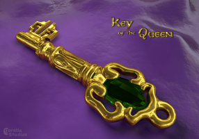 Key to the Queen's Room by CorellaStudios